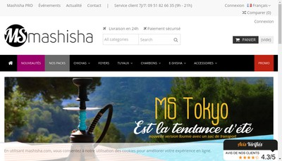 Site internet de Mashisha