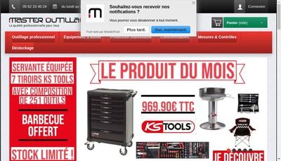 Site internet de Rcde-France (Reseau Central Distribution Entreprises)