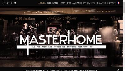 Site internet de Master Home