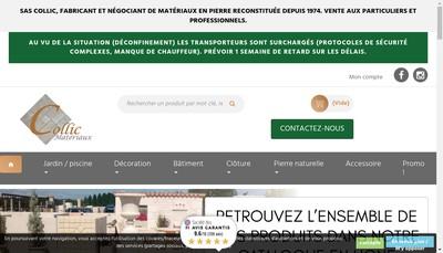 Site internet de Collic