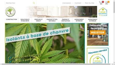 Site internet de Materiaux Naturels du Gers
