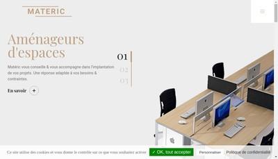 Site internet de Materic Lundia