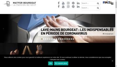 Site internet de Groupe Matfer Bougeat