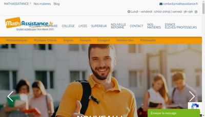 Site internet de Math Assistanc Nation