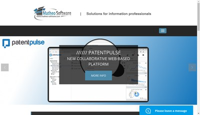 Site internet de Matheo Software