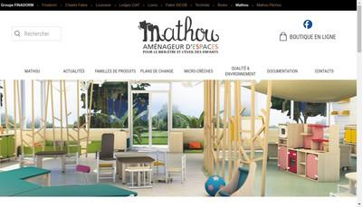 Site internet de Mathou Creations