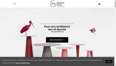 Site internet de Matiere Grise