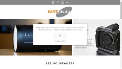 Site internet de Matphoto