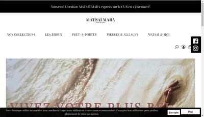 Site internet de Matsai Mara
