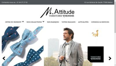 Site internet de M Attidude