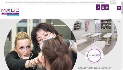 Site internet de Maud Academy