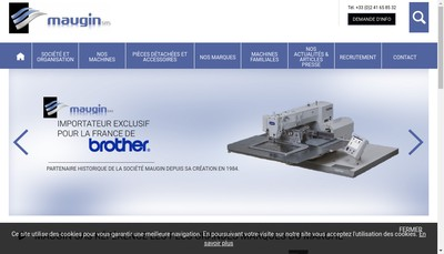Site internet de Francois Maugin SAS