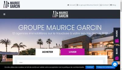 Site internet de Maurice Garcin