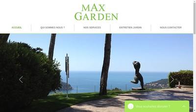 Site internet de Max Garden