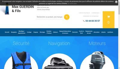 Site internet de Max Guerdin et Ses Fils