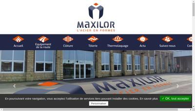 Site internet de Maxilor
