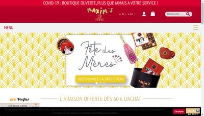 Site internet de Sapp Distribution