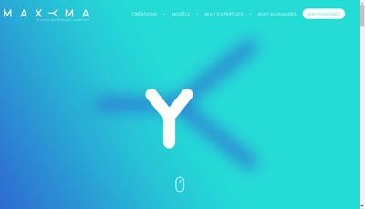 Site internet de Maxyma-Maxyma Com-Maxyma Fr