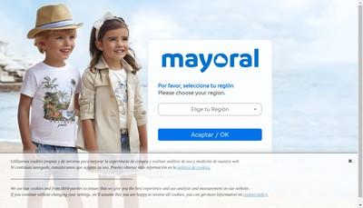 Site internet de Mayoral France
