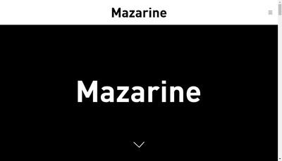 Site internet de Mazarine Mademoiselle Noi