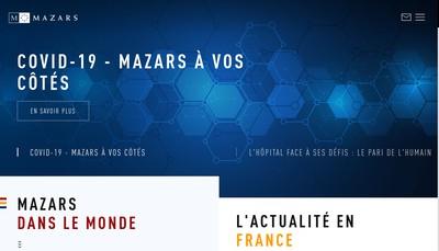 Site internet de Mazars Boye