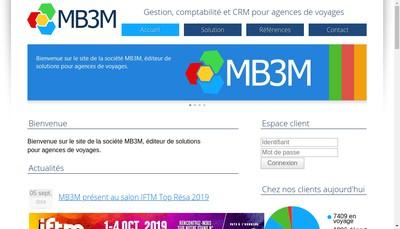 Site internet de Mb3M