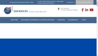 Site internet de Mbb Assurances