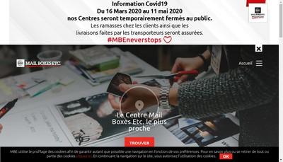 Site internet de Mbe France