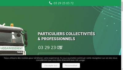 Site internet de Mbj Assainissement