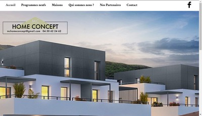 Site internet de Mc Home Concept