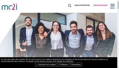 Site internet de Mc2I