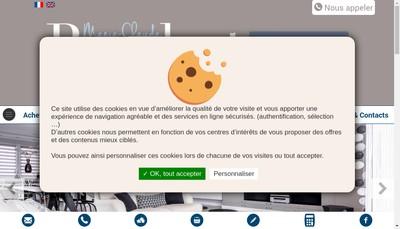 Site internet de Marie-Claude Bailet-Habitat Conseil