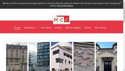 Site internet de Marbres et Carrelages Campos