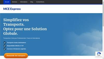 Site internet de Messageries des Champs Elysees