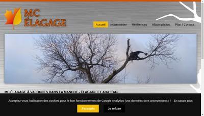 Site internet de Mc Elagage