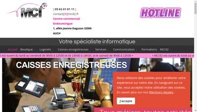 Site internet de Mci32