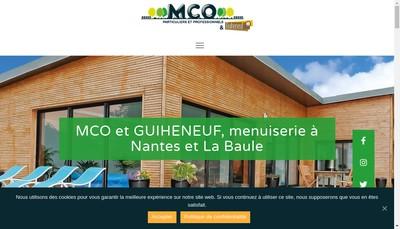 Site internet de Menuiserie et Charpente Orvaltaise