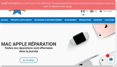 Site internet de McPrice ( Mac Apple Shop Réparation )