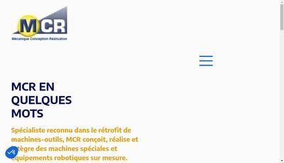 Site internet de MCR