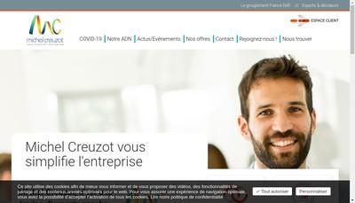 Site internet de Creuzot Michel SA
