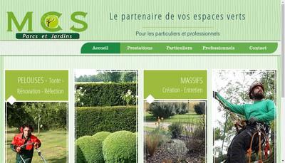 Site internet de Mcs Pro Services