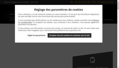 Site internet de Md Lease