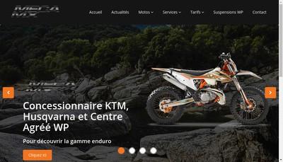 Site internet de Dune Motos