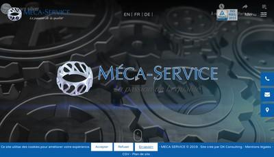 Site internet de Meca Service