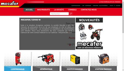 Site internet de Mecafer