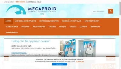 Site internet de Meca Froid