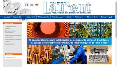 Site internet de Laurent Robert