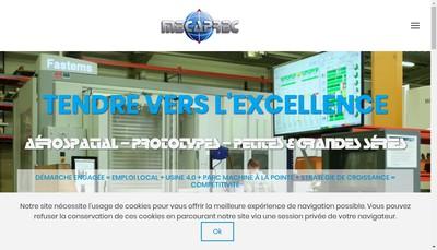 Site internet de Mecaprec