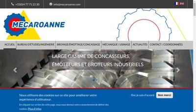 Site internet de Mecaroanne