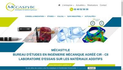 Site internet de Mecastyle